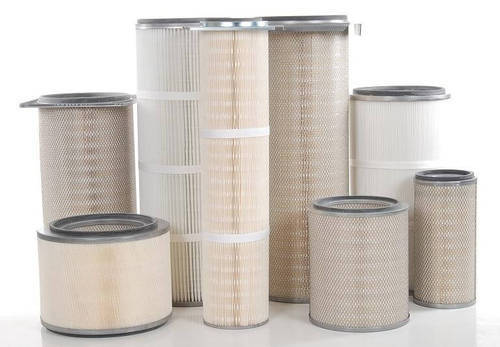 Fiberglass Pleated Cartridge Air Filter