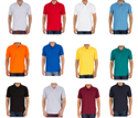 Mens Plain Blank Polo T Shirt