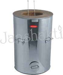 Mild Steel Round Drum Tandoor, for Out Door Caterings & Lawn Party