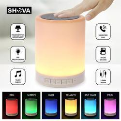 Wireless Portable Bluetooth with Smart Touch LED Mood Lampuetooth Speakers