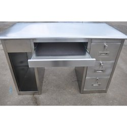 ASF Stainless Steel Computer Tables