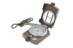 Military Lensatic Prismatic Compass