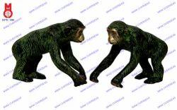 Chimpanzee Running Statue