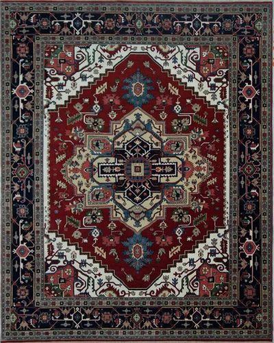 Designer Serapi Carpet for Hotels
