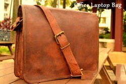 Handmade Leather Messenger Bag, Office Bag, Executive Bag, Laptop Bag, Leather Bag