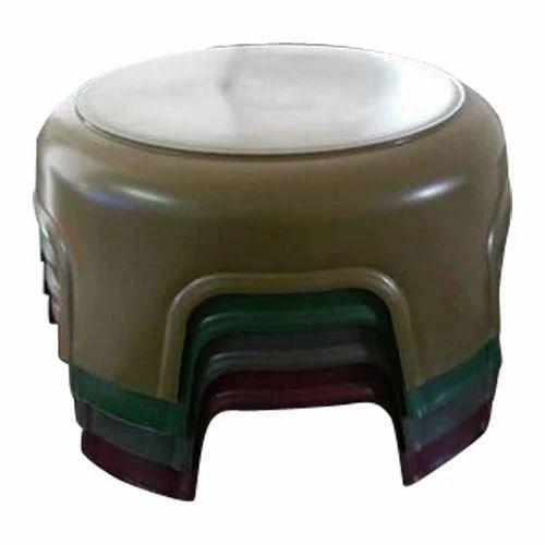 Round Plastic Bathroom Stool at Rs 120 /piece | Motera Stadium Road ...