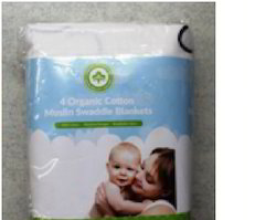 Muslin Cotton Face Cloths for Babies