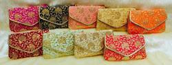 Embroidered Fabric Clutches