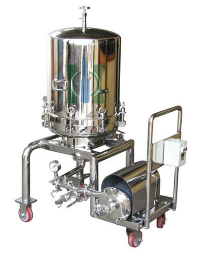Stainless Steel Sparkler Filter Press