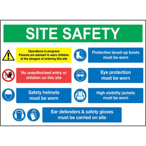 Construction Site Boards: Construction Signs Boards, Construction Zone Sign, निर्माण