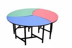 Trio Foot Boll Table