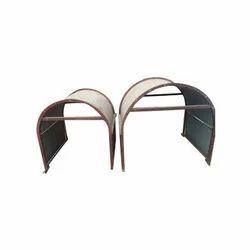 Galvanized Steel Sheet Conveyor Belt Hood Cover, Size: 650 Mm