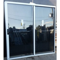 Glass and Aluminum Glass Window, Size/Dimension: 56x72 Inch