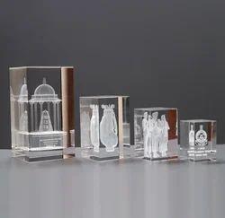 Crystal 3 D Cube