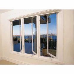 White Rectangular Casement Window Frame