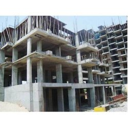 Concrete Frame Structures Commercial Building Contractors, Waterproofing System