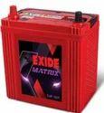 Four Wheeler Exide Matrix Battery