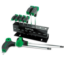 L-Type Two Way Ball Point & Hex Key Wrench Set