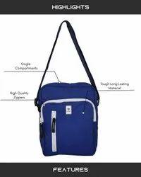 Mono-Blue Sling Bag