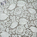 White Unstitched Lace Fabric, Use: Ladies Suits & Sarees