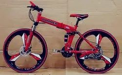 Hummer Red Foldable Cycle