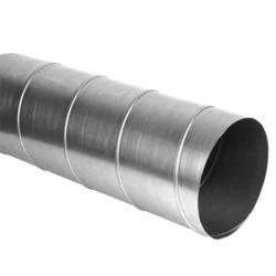 SS Spiral Air Duct, For Industrial