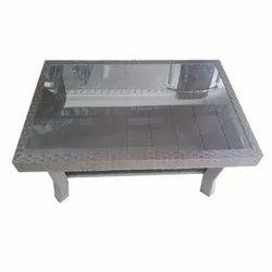 Rectangular Nilkamal Center Table-01 with Glass, for Home