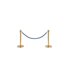 Classic Rope Post in Brass