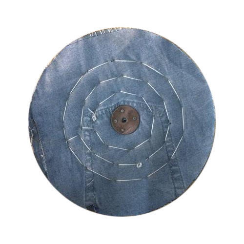 Blue Jeans Cloth Buffing Wheel
