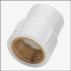 RIO 1/2 inch UPVC Brass FTA, For Structure Pipe