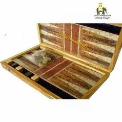 Stone Backgammon Game