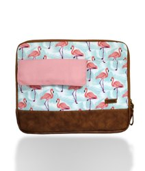 Caris Heron Print Laptop Sleeve