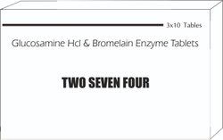 Glucosamine HCL & Bromelain Enzyme Tablets
