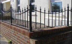 MS Boundary Wall Railing