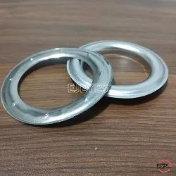 40mm Stainless Steel Curtain Eyelets & Washers Polished