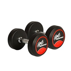 Steel Round Technix Dumbbell for Gym Equipment
