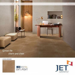 Matt Finish Lavasa Browny Glazed Vitrified Tile
