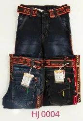 Hanex Junior Designer Denim Jeans For Kids