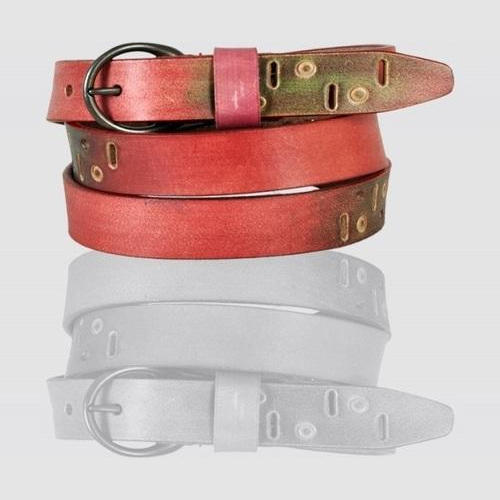 Women Colored Leather Belt at Rs 299  piece  9666f5b2bc