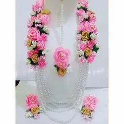 Pink Rose Flower Jewellery