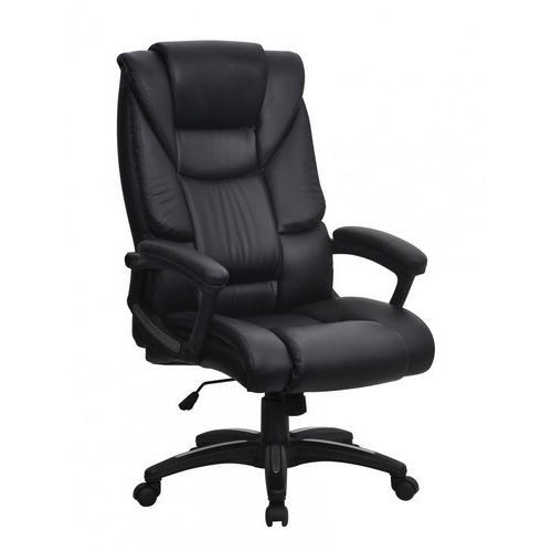 Black High Back Executive Office Chair Rs 2650 Piece Avneesh New Super Steel Furniture Id 19753461348