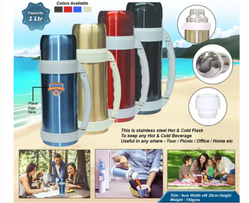 1Ltr. Travel Vacuum Flask