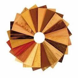 Wood Veneer Plywood Board, Thickness: 4mm