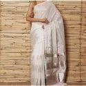 Ladies Plain Silk Saree