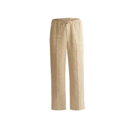 Cream Color Cotton Yoga Pant, Size: S and M