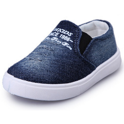 Kids Blue and White Casual Shoes