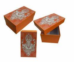 Festive Cardboard Gift Box