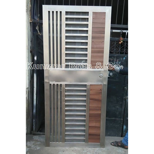 Stainless Steel Door Stainless Steel Doors Manufacturer From Noida