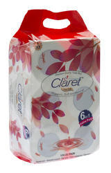 CLARET BEST QUALITY TOILET ROLLS, 6 IN 1 PACK