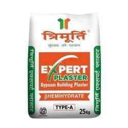 Trimurti Expert Plaster Of Paris, Packaging Type: Hdpe Bag, Packaging Size: 25 Kg